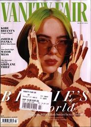 Tidningen Vanity Fair (UK Edition) 12 nummer