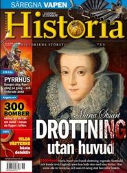 Tidningen Världens Historia 4 nummer