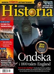 Tidningen Världens Historia Tidningsprenumeration 9 nummer
