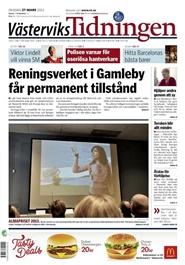 Tidningen Västerviks Tidningen 24 nummer