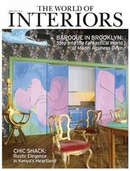 Tidningen World Of Interiors 12 nummer