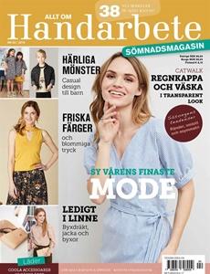 Prenumeration Allt om handarbete Sömnadsmagasin