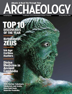 Prenumeration Archaeology Magazine