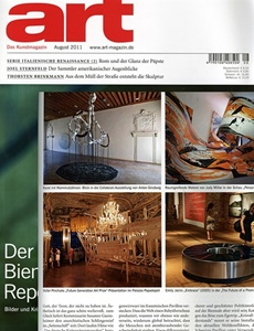 Prenumeration Art-das Kunstmagazin