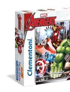 Prenumeration Avengers MAXI Pussel Supercolors, 104 bitar