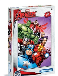 Prenumeration Avengers Pussel, 100 bitar