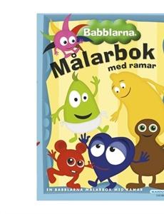 Prenumeration Babblarna, målarbok med ramar