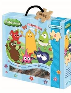 Prenumeration Babblarna, Träpussel 6 bitar