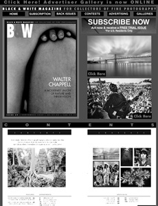 Prenumeration Black & White Magazine