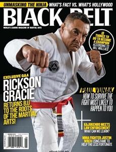 Prenumeration Black Belt Magazine