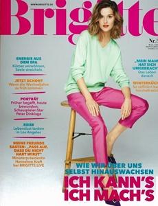 Prenumeration Brigitte