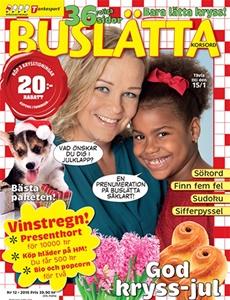 Prenumeration Buslätta Korsord