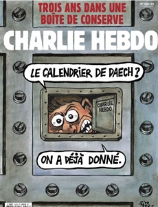 Prenumeration Charlie Hebdo