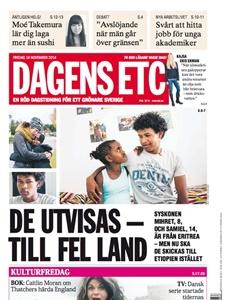 Prenumeration Dagens ETC