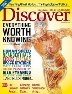Prenumeration Discover Magazine