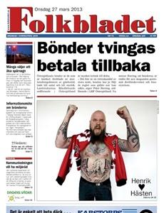 Prenumeration Folkbladet
