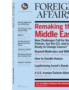 Prenumeration Foreign Affairs
