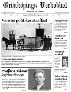Prenumeration Grönköpings Veckoblad