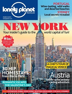 Prenumeration Lonely Planet Traveller