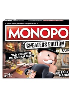 Prenumeration Monopol Cheaters Edition - Spel
