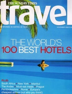 Prenumeration Sunday Times Travel Magazine