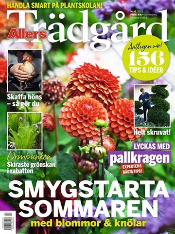 Prenumeration Allers Trädgård