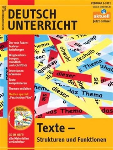 Prenumeration Deutschunterricht