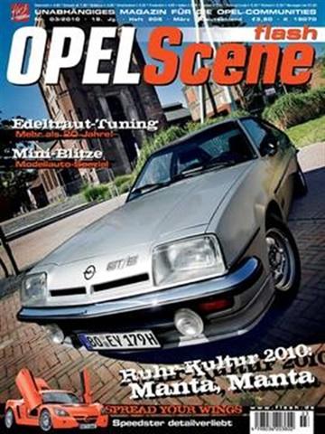 Prenumeration Flash Opel Scene