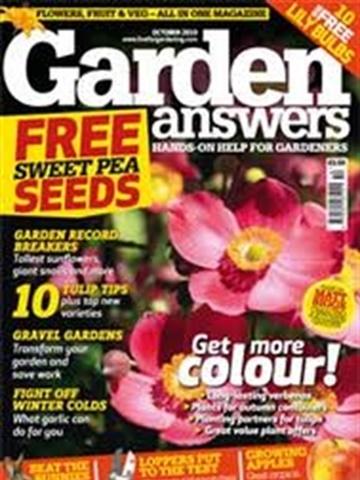 Prenumeration Garden Answers