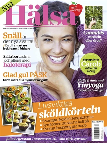 Prenumeration HÄLSA