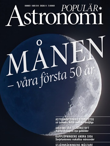 Prenumeration Populär Astronomi