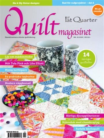 Prenumeration Quiltmagasinet