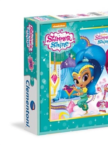 Prenumeration Shimmer and Shine Pussel, 30 bitar